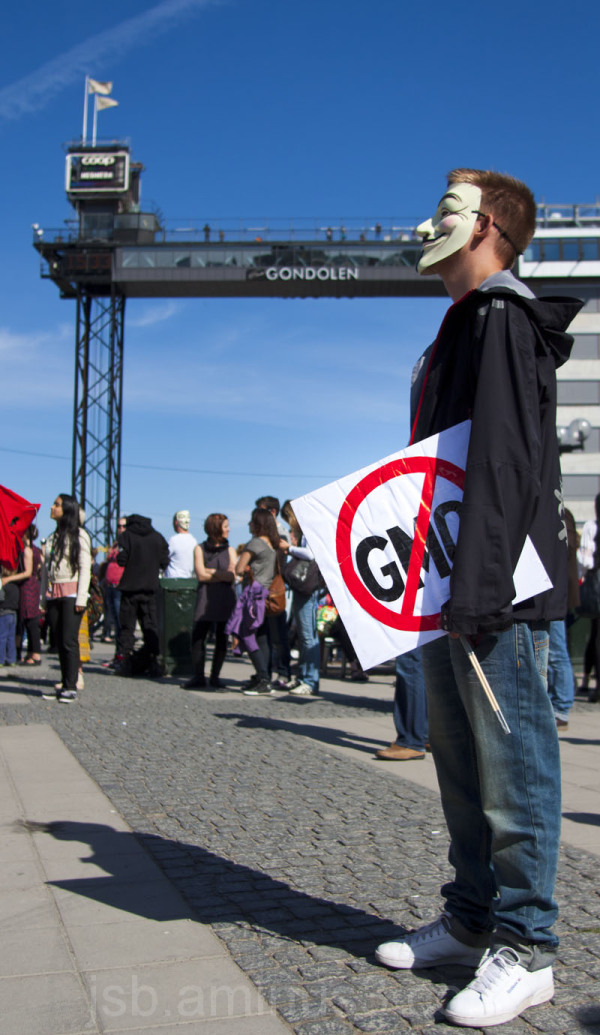 MARCH AGAINST MONSANTO STOCKHOLM - 20130525