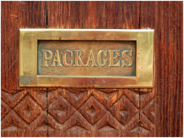 Packages, not letters