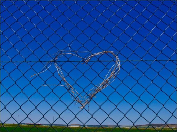 Chain link art