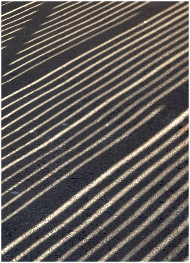 Shadows on concrete