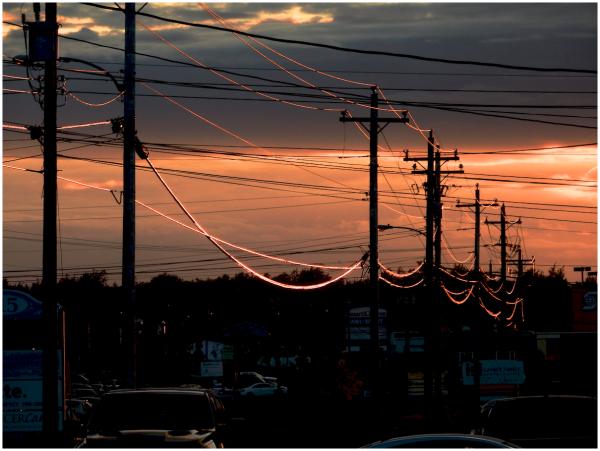 Gander sunset