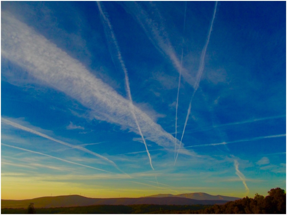 Sunrise and jet streams