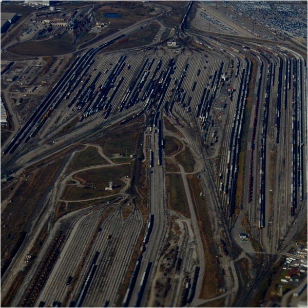 Toronto trainyard