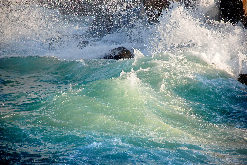 La danse des vagues