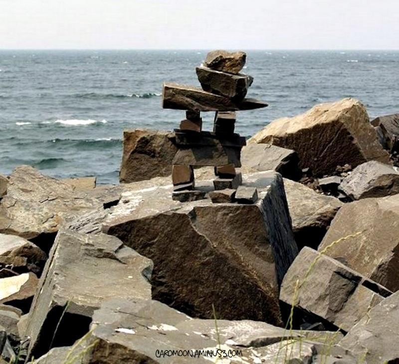 Inukshuk - along the shores of Gaspé