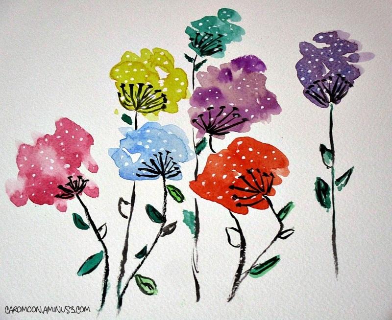 taking a break - a watercolor moment