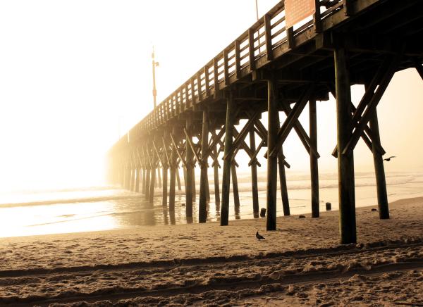 ghost pier