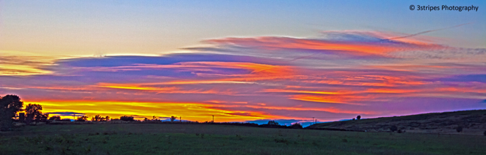 Viberant sunset