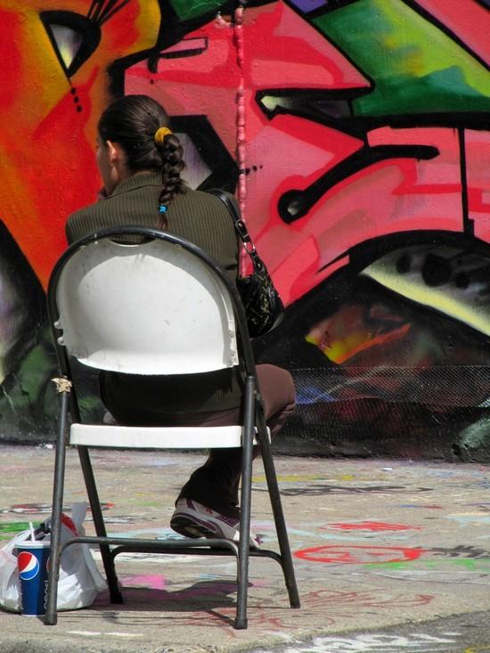 Le repos du graffeur - The rest of the painter