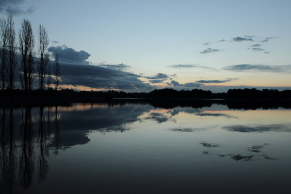 Sunset at Lake Ginninderra