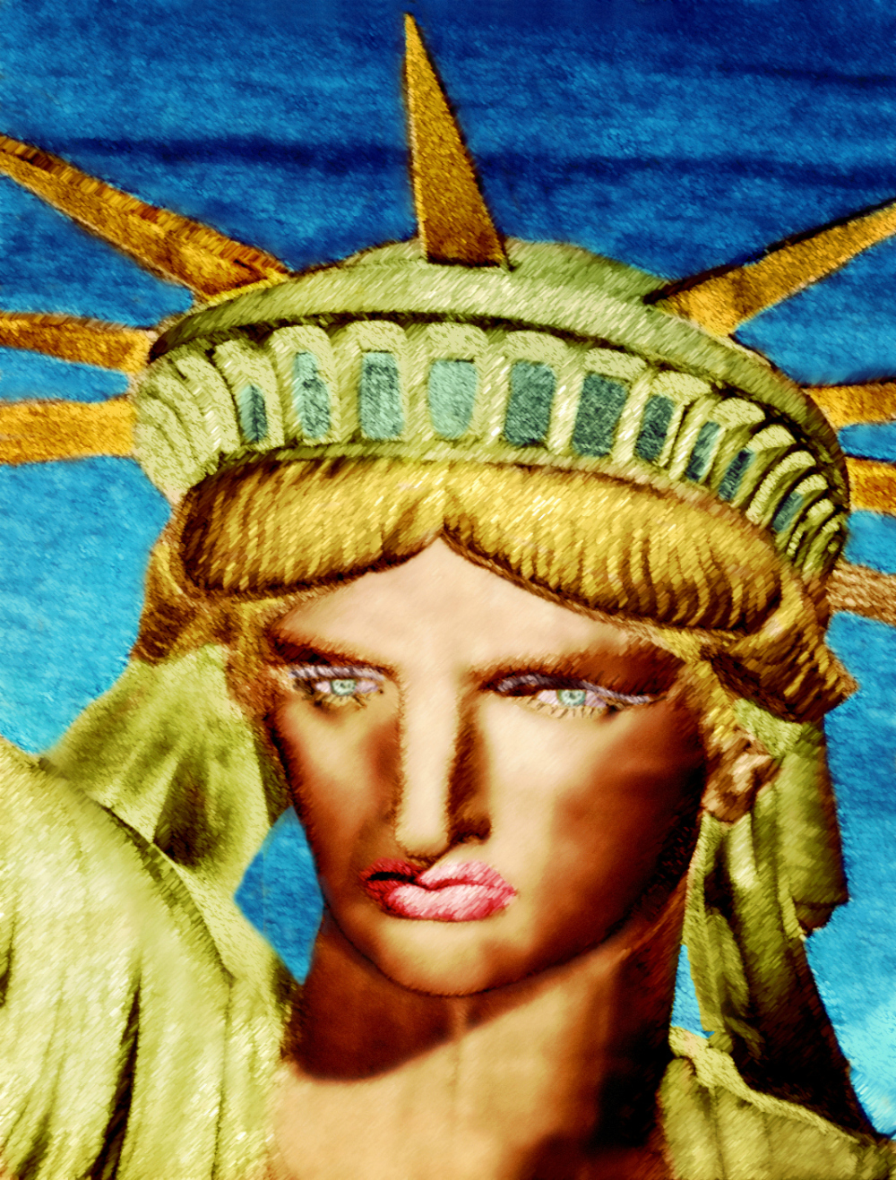 Statue of  Liberty - Part 3