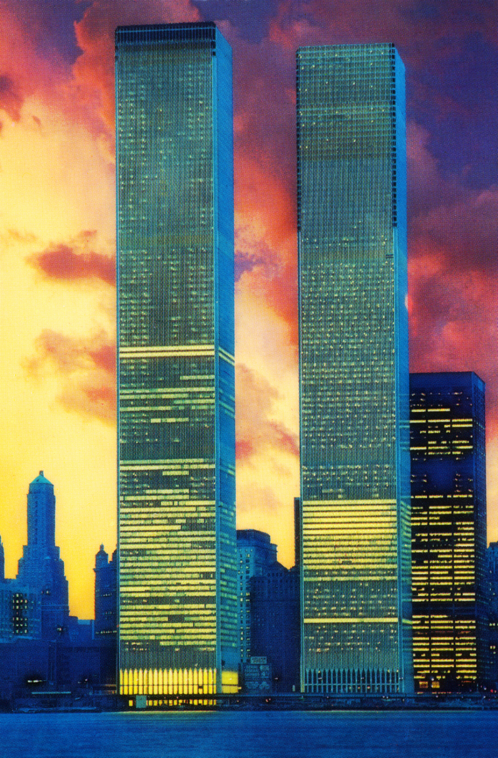 World Trade Center at Dusk