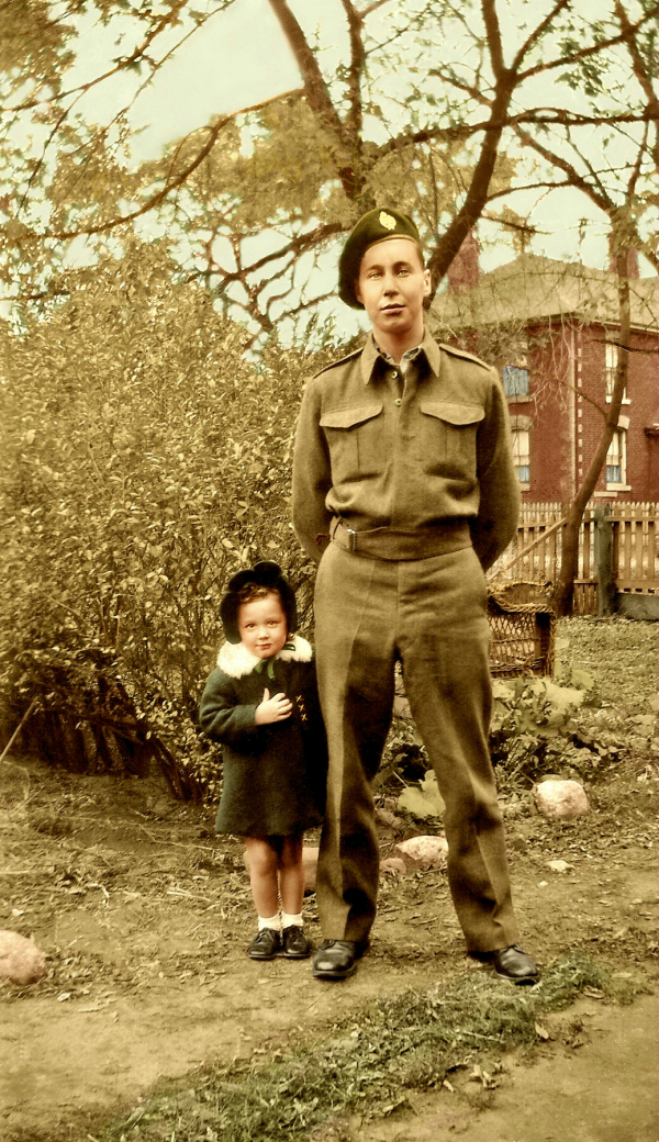 Donna Shatraw and her Father