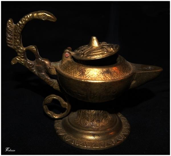 La lampe d'Aladin ?