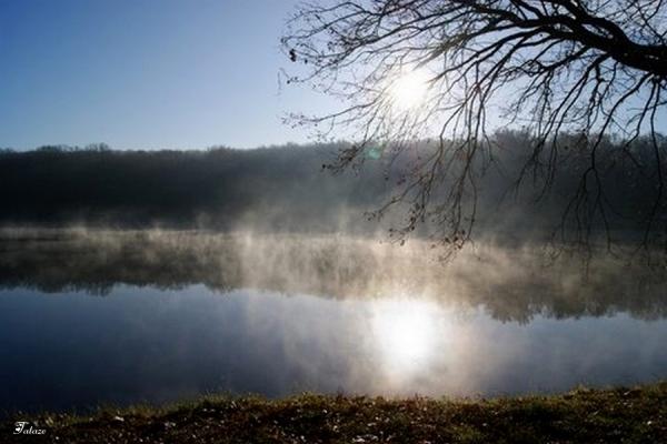 Le lac se réchauffe