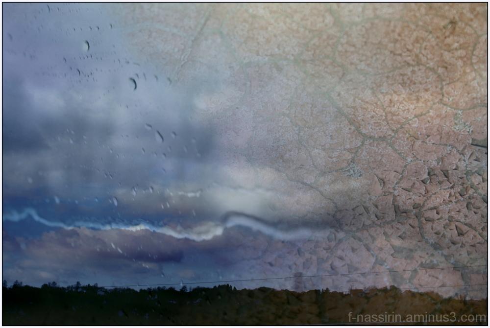 Wüste und Regn