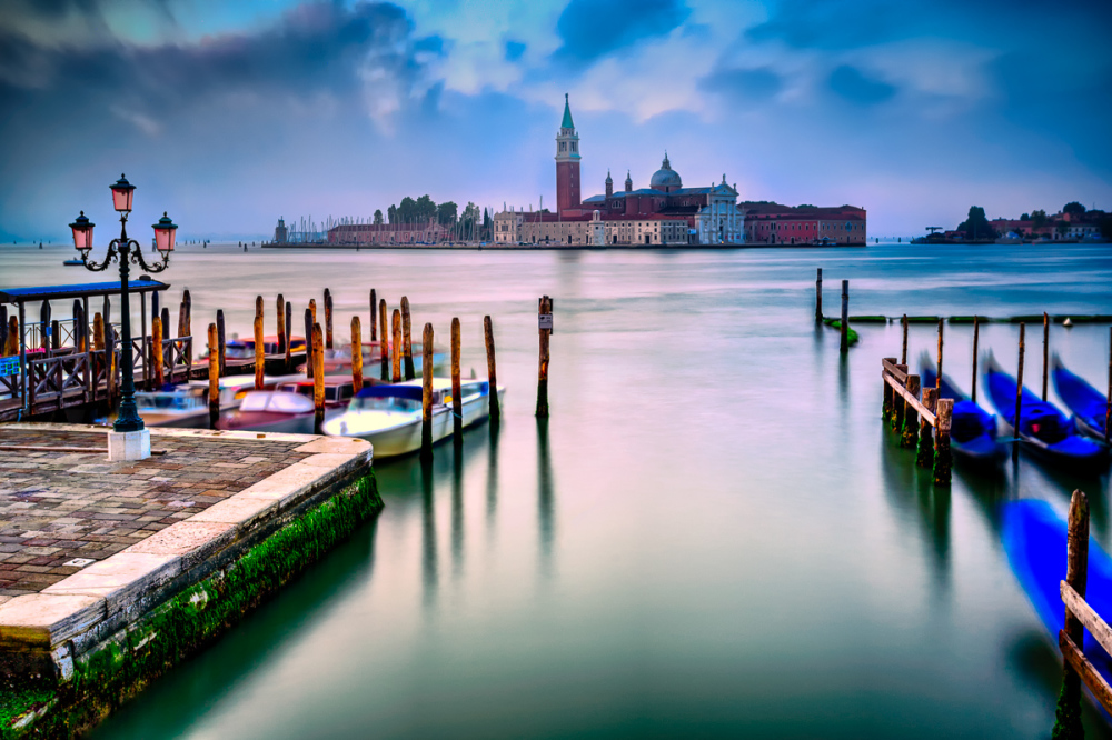 Blue Venice Morning