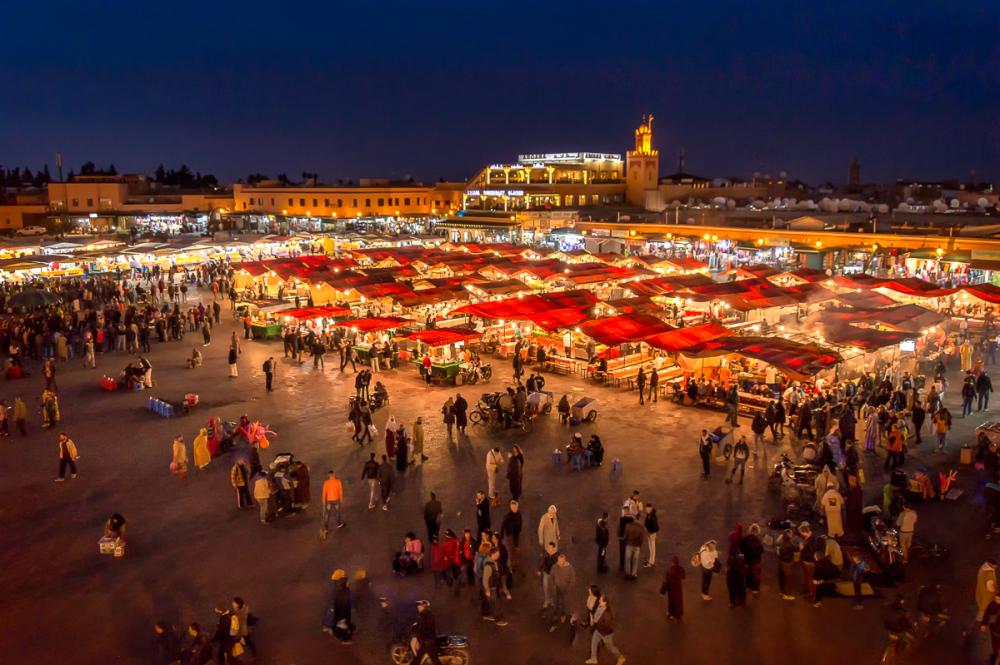 Djemma El Fna Square in Marrakech