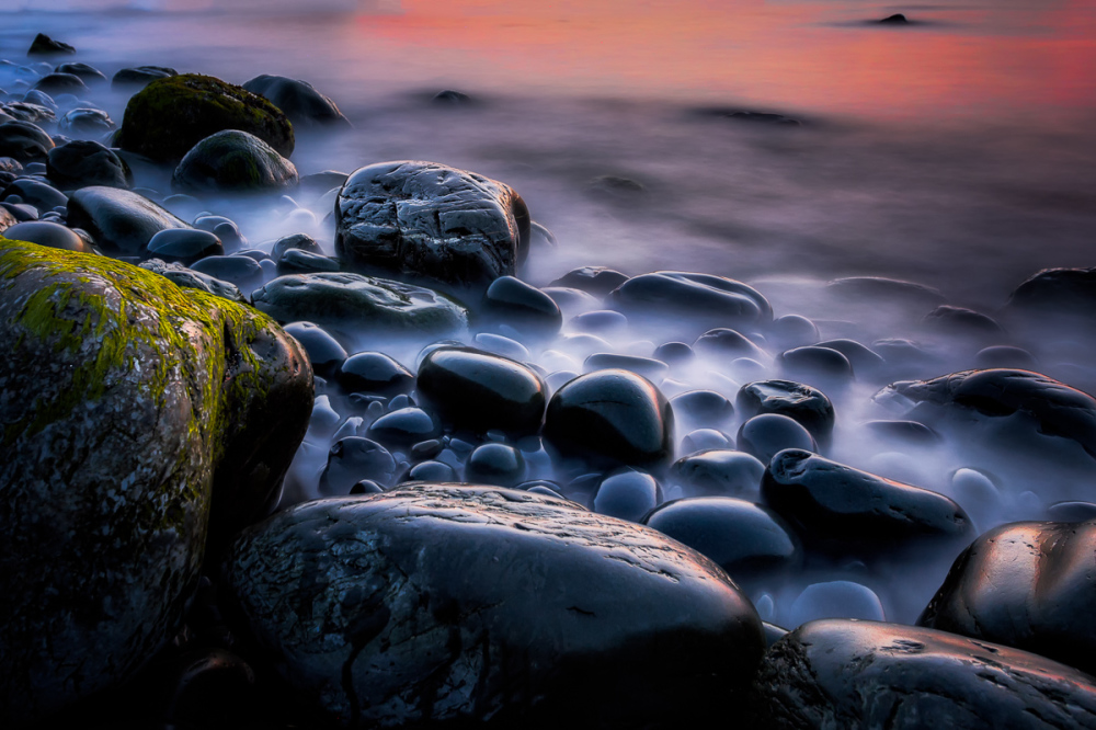 Boulders at Sunset