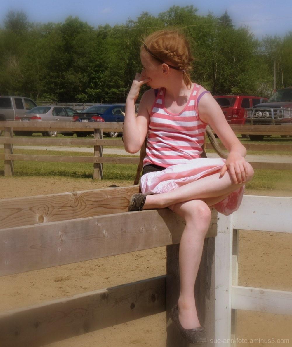 la petite rouquine - little red hair girl