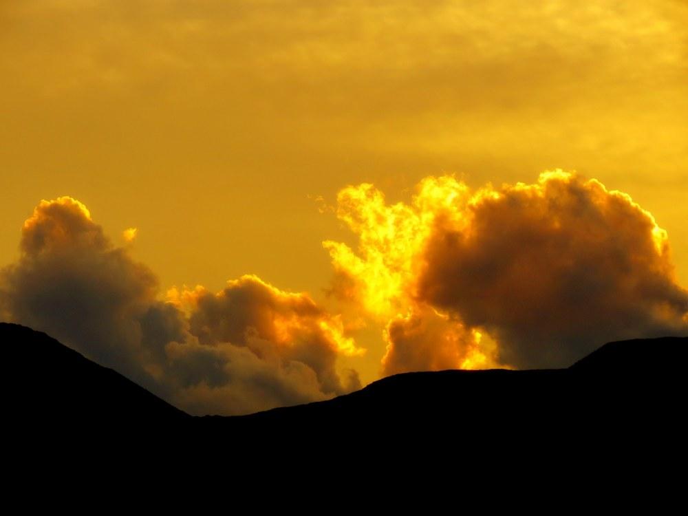 nuage de soleil