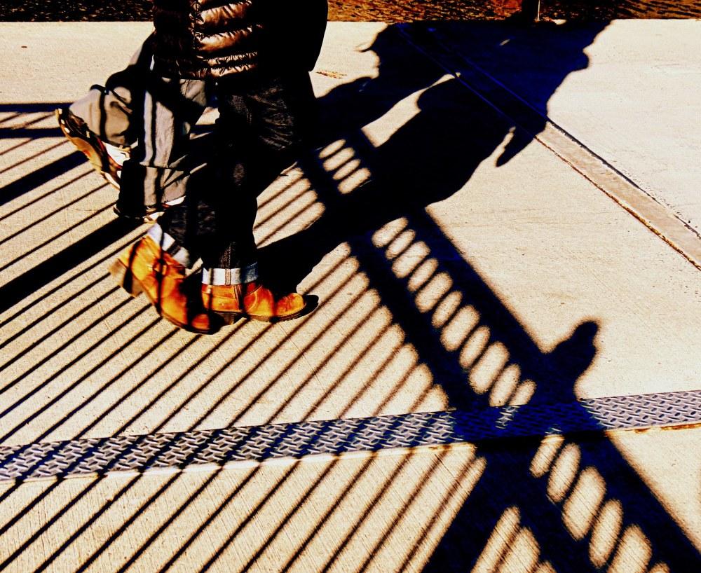 les bottes brunes