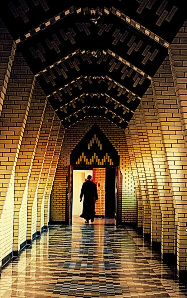 un moine de l'abbaye