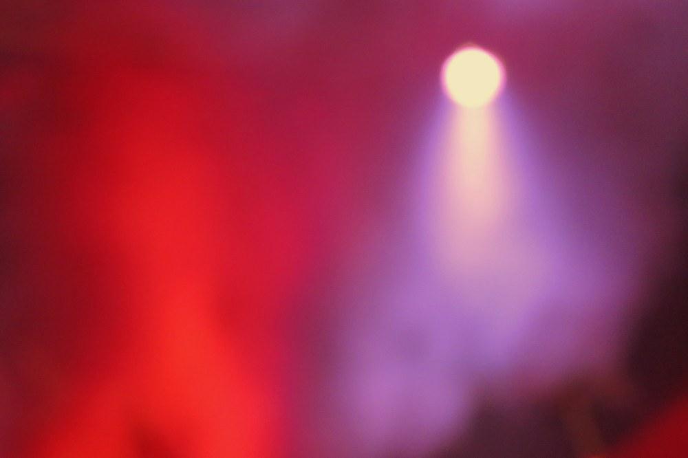 lumière dans le brouillard