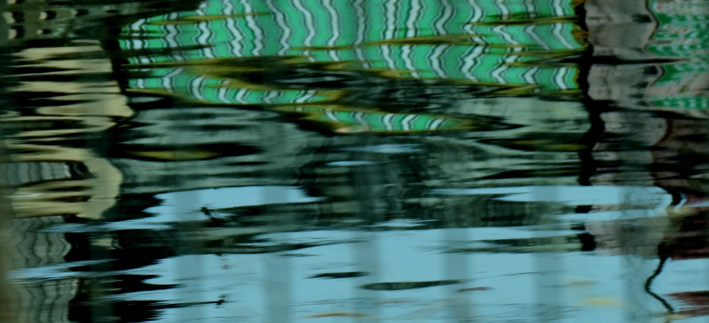 reflets d'eau
