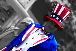 Uncle Sam is coming to town