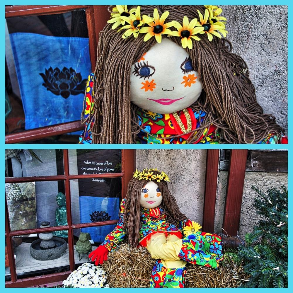 Flower Child Scarecrow