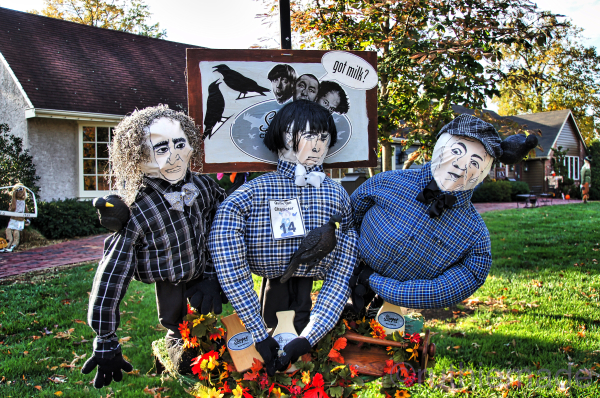 Three Stooges Scarecrow