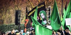 Ashura March in London 2012...