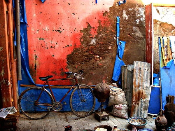 Vélo mural