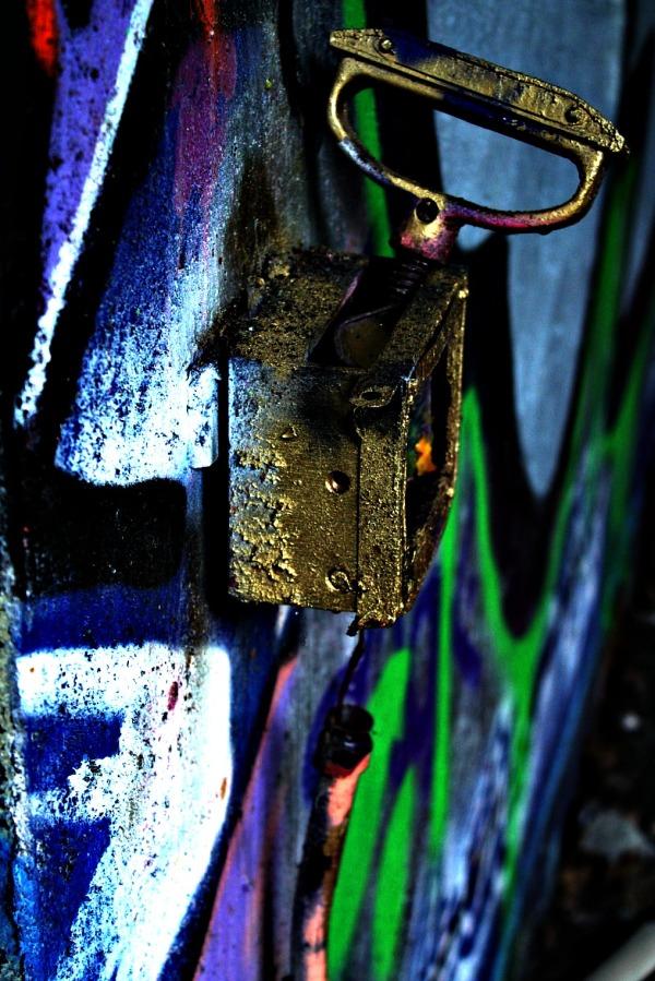urbex, friche, tag, fresque, urban, peinture, murs