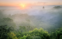 Sunrise in Tikal