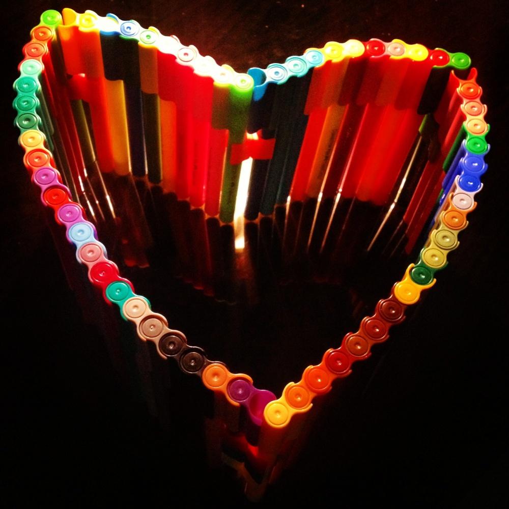 قلبم در عشق تو ....