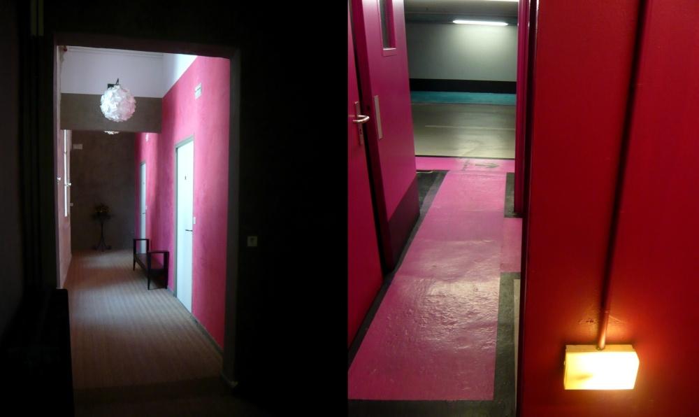 Pink dyptique.