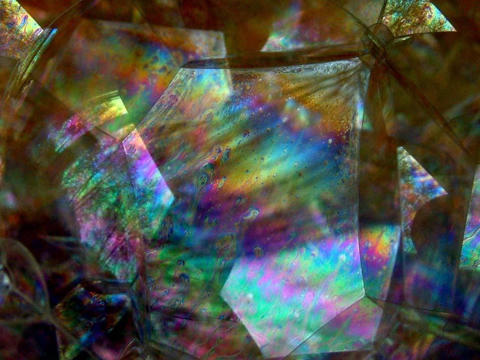 Reflets sur bulles