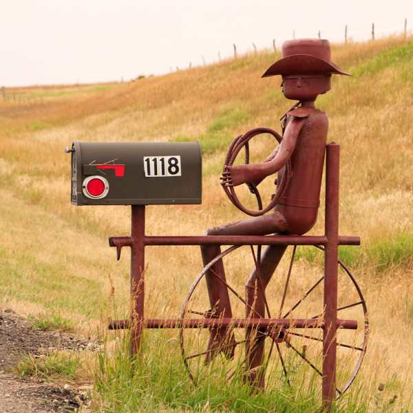 mailbox in Kansas