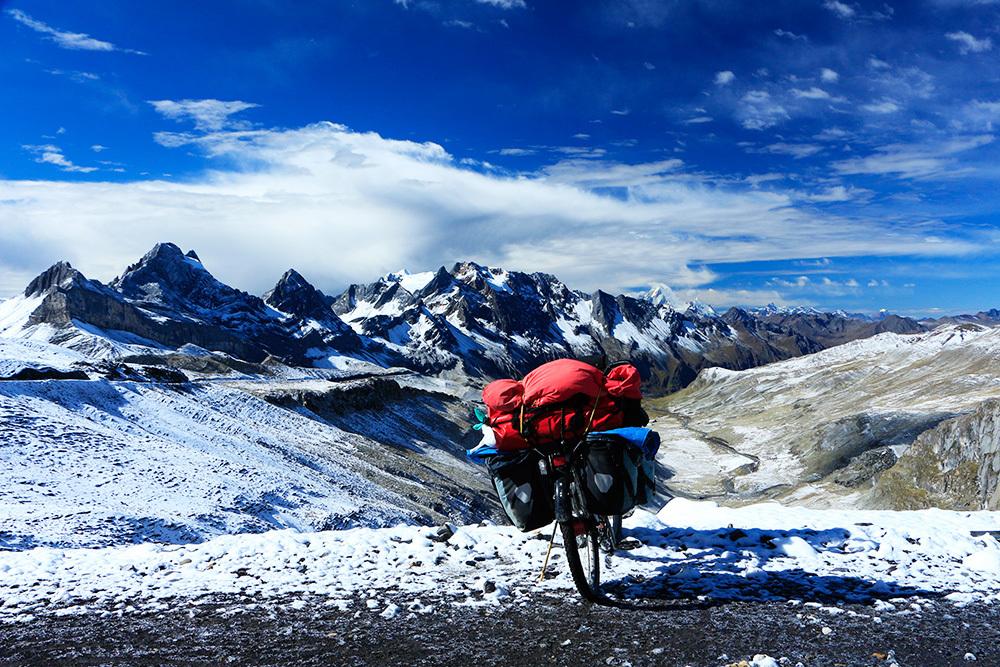 À près de 5,000 mètres d'altitude au Pérou