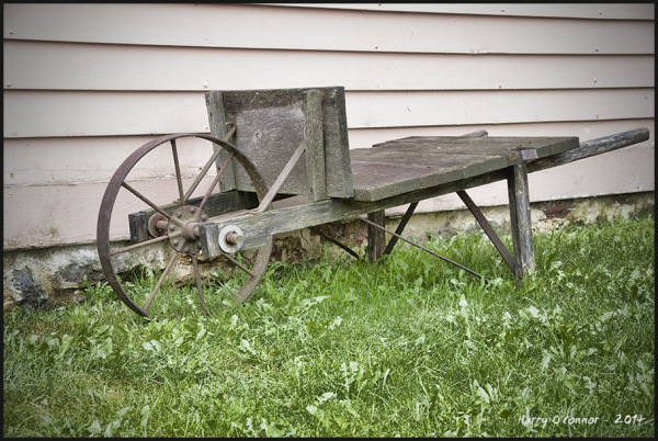 Primitive wheelbarrow