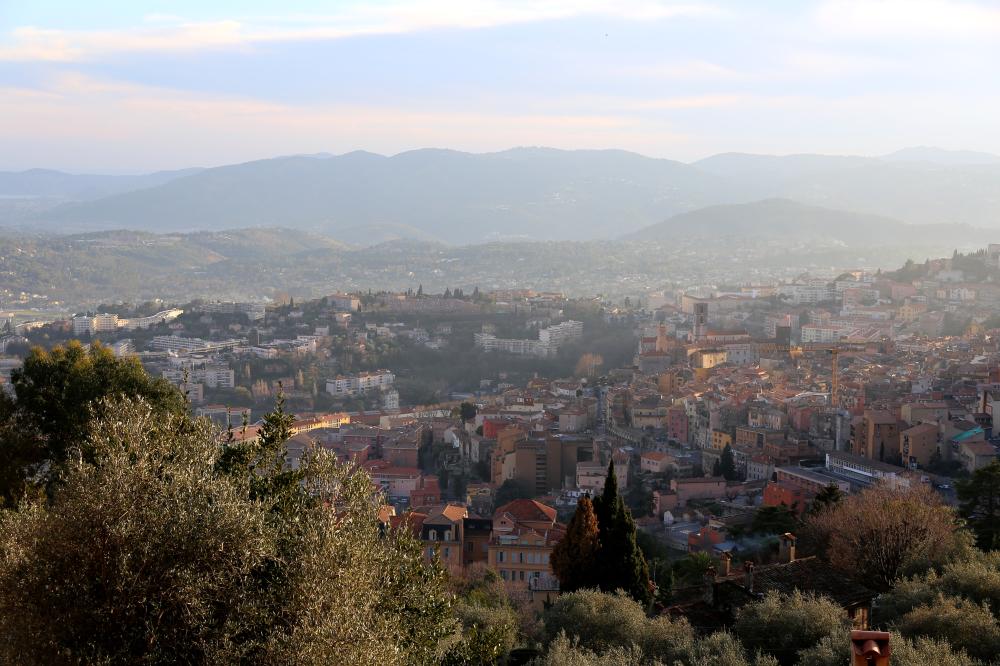 Les hauteurs de Grasse