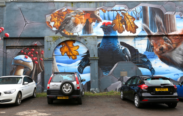 Les murs de Glasgow 3