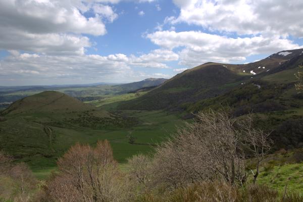 Sur la route du Mont Dore
