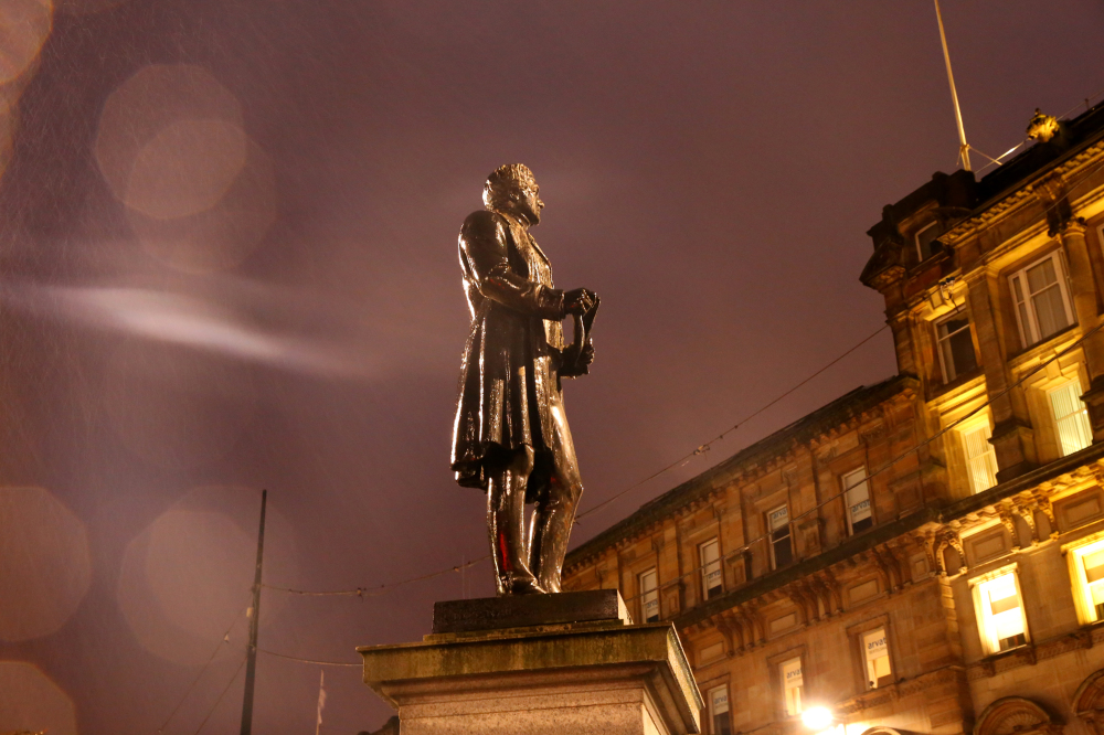 Statue de Walter Scott