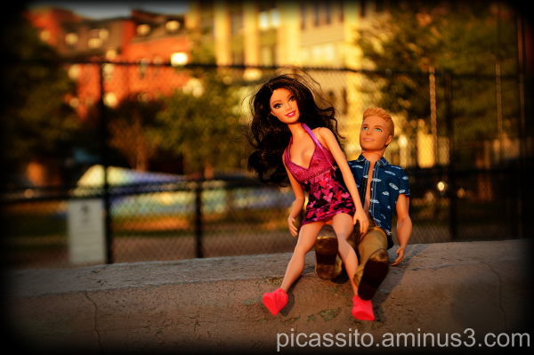 Barbie & Ken Getting Frisky