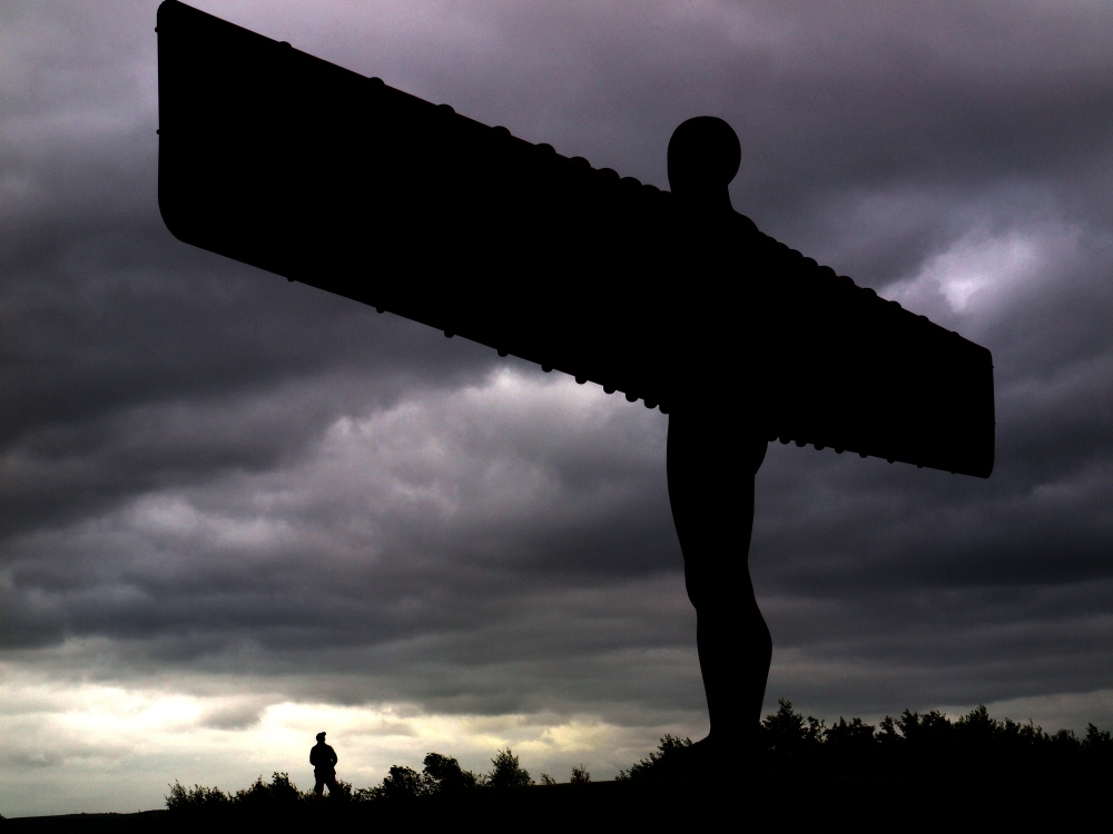 GATESHEAD'S ANGEL OF THE NORTH