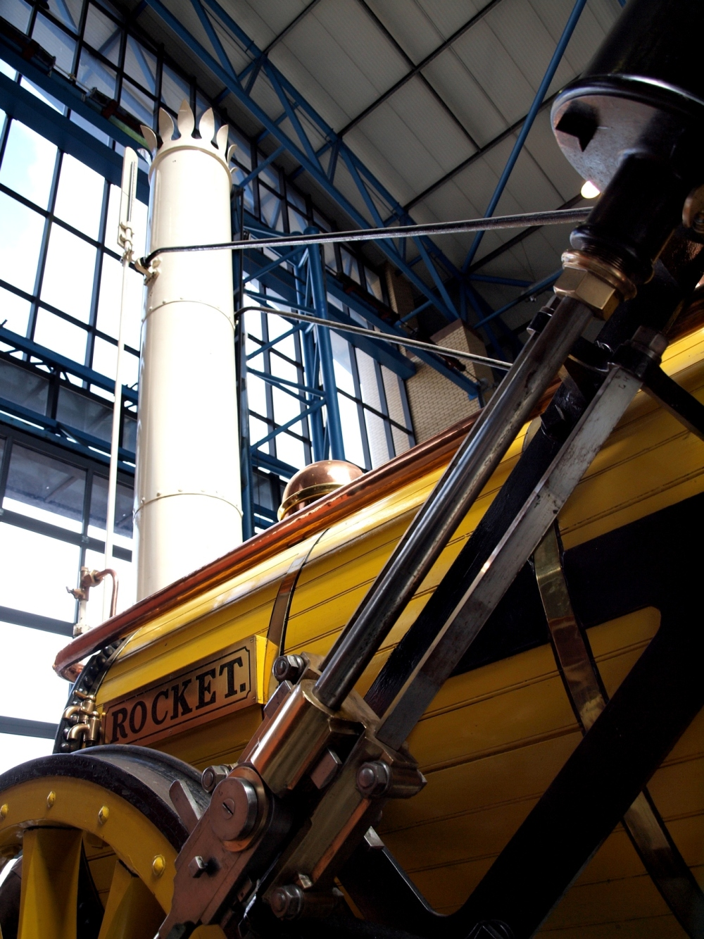 Stephenson's Rocket at the NRM