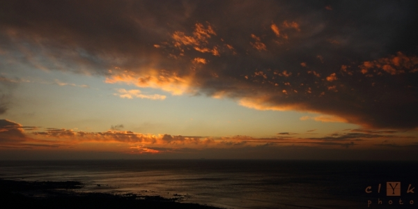 clYk sunset clouds coucher soleil nuages Normandie